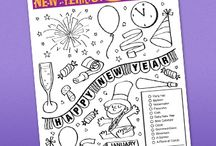 January ideas / by Leah Carpenter