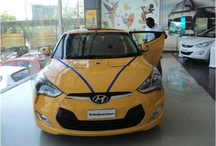Hyundai exhibits the Veloster in Pune / by HyundaiIndia