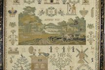 Antique Samplers / Inspiration, history and needlework all in one place! / by Tammy's Treasures