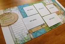 Scrapbooking Layouts / by Arlene Bridges