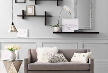 Living room wall decor ideas  / by Tammy Gruer