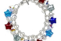 Red, white, & blue. / by Bead Style magazine