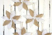 Christmas decorations / by Stephanie Hall