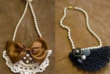 Diy necklace  / by Lydia Hubbard