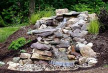 Water feature ideas / by Peggy Williams