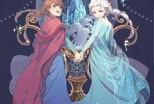 Frozen & Disney / by Augustine Yukimura