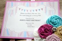 Party Ideas / by Allie Ziemann