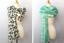 Scarves, Scarves & more Scarves / by Crystal Robertson