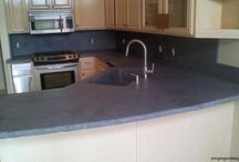 Concrete Countertop ideas / by Teresa Bowen