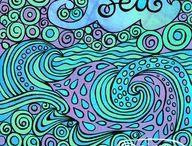 I Love the Aqua Seas. / by Jody Bergsma