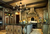 Kitchens and Dining Rooms / Who can live without kitchens and dining rooms? / by Michelle Billings