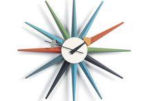 Modern Clocks @ puremodern.com / by PureModern.com