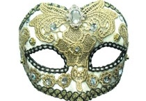 Masks / Transform your look - add a hint of mystery and intrigue by wearing a mask. Available to buy at Oscar's Den / by Oscar's Den