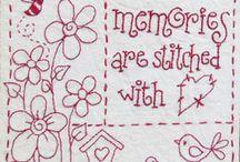 stitchery / by Elizabeth Dus