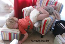 Kids Sleep in the Darndest Places / by Cloud b