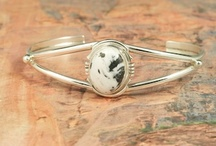 White Buffalo Turquoise Jewelry / by Treasures of the Southwest.com