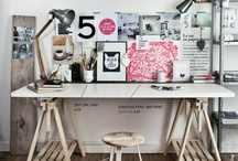 [ studio ] / beautiful studios/workspaces...inspiration for my home studio...  / by Palette Graphics