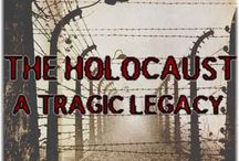 History: Holocaust  / What began with the struggle of Jews in WW2 and then posting pictures of American Jews showing their achievements, took on a life of it's own. I believe Holocaust is the word to be used here. May none forget the atrocity.  / by Cheryl Darr