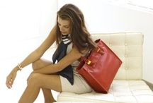 Emilie M Maddox Collection / A sophisticated touch to your work week, the Maddox totes make an impression while keeping you organized / by Emilie M Handbags