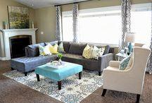Reno - basement Family Room Ideas / by MagicByLeah