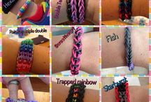 Gifts - Jewelry (Rubber bands / Rainbow loom) / by Ajar Anak