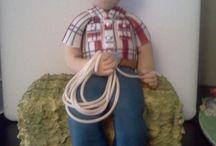 Fondant Figurines tarafından / Fondant figurines and tutorials from the web/Astrid Deetlefs