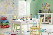 Playroom Ideas / by Jill Mitchell