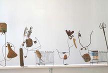 Wire Art / by Doris Partin Skarnulis