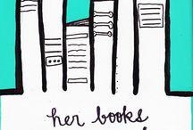 books books books / by Allisyn Jackson