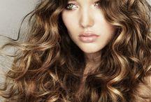 Jen curly dark hair HL / by Mackenzie Ervin