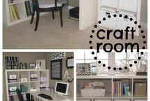 Craft Rooms, Storage and Tips / by Mary McCready