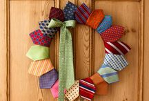 CREATIVE: Clothing Upcycling- Necktie Projects / Creative ways to reuse, recycle, and upcycle men's neckties. / by Blue Velvet Moon Weddings & Events