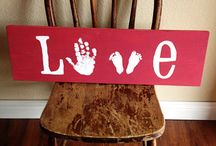 Handprint Crafts / by Ashley Hess