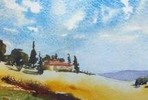 Watercolor lessons / by Angela Thierman