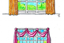 Window - Drapes / by Barbara Fulkerson