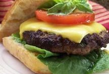 Burgers, Hot Dogs, Wraps, Tacos / by Shirley Simon