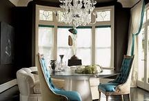 Dream Home / wide open spaces, black and white with blue accents... one day / by Suzanne Blair