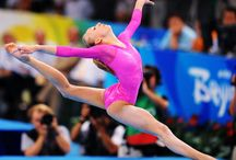 Gymnastics / It's a sport of strength and elegance, one who can capture the art of gymnastics has a gift, becuase only few can show the beauty of it to the world.  / by Yelena Hines