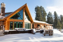 Log Homes / by Russell Craig