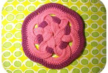 Crochet hot pads / by Marisa Cappuccia