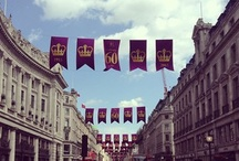 Coronation Flags / Pictures of the flags celebrating the 60th anniversary of The Queen's Coronation.  / by Regent Street