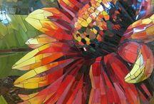 stained glass / by Judy Gromatzky