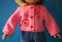 doll clothes - sewing / by Lorraine Lawton
