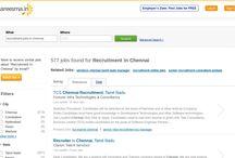Recruitments and Jobs / Jobs Recruitment In Chennai vacancies in Careesma. 577 job offers in Careesma for Recruitment In Chennai. You can see all the jobs for Recruitment In Chennai, Page ... / by Careesma.in India