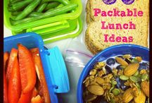Packable Food Ideas/Healthy Snacks / For days when you are on the go to Co-op, field trips, etc... / by IAHE Indiana Association of Home Educators
