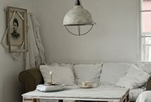 Furnishings / Pull up a chair. Build a new shelf. Find ideas here. / by Alycia Morales