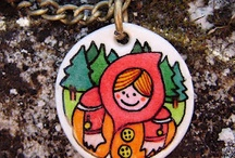 Little Red Riding Hood very happy to see you por Faroteo Accesorios