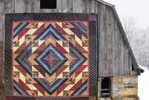 Quilts - Barns / by Jan