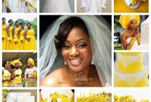 Nigerian Wedding Color Schemes & Themes / by Nigerian Wedding