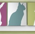 Cat Crafts / by Cheryl Miller